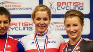 Becky James shines to start National Track Championships in style