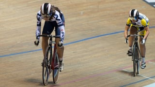 Capewell makes it a title hat-trick at the British Cycling National Youth and Junior Track Championships