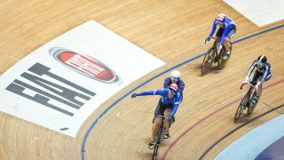 Katy Marchant wins second title with keirin victory at British Cycling National Track Championships
