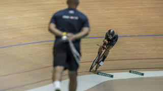 New world best time for Vernon in individual pursuit