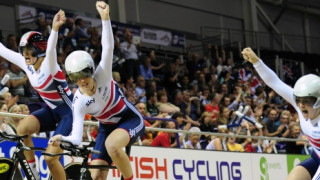 TEAM GB STRIKES GOLD AT 2013  WORLD JUNIOR TRACK