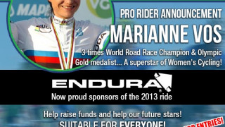 Marianne Vos confirmed for Braveheart Cycling Fund ride
