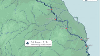 Two stages of Friends Life Tour of Britain for Scotland