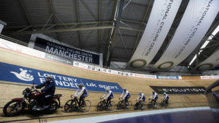 Watch the Great Britain Cycling Team train