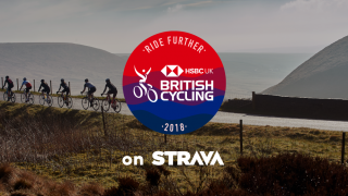 The British Cycling Ride Further Challenge on Strava