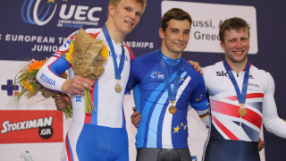 Paisley's Jonathan Mitchell takes bronze on the penultimate day of the European Track Championships.