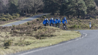 A day with the squad on a Scottish Cycling training camp
