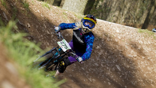 There is nothing stopping you trying Downhill mountain biking now