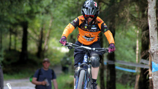 Scottish Cycling Mini Downhill Final at Fort William MTB World Cup