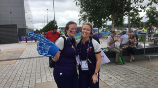 Volunteer Stories in #TheMoment from the European Championships 2018