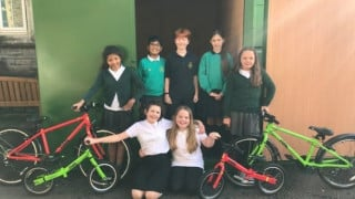 660 bikes headed to schools in Cardiff to support cycling projects