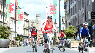 Thousands Take To The Streets Of Cardiff For Cycling Festival