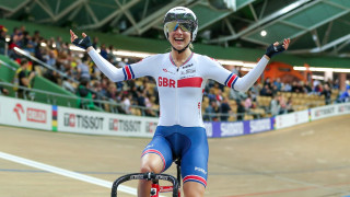 Elinor Barker crowned new scratch race world champion in Pruszkow