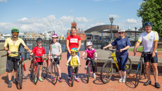 Welsh Cycling partners with HSBC UK, British Cycling and Cardiff Council to get more people cycling in Cardiff
