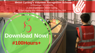 Welsh Cycling launch Volunteer Recognition Scheme #100Hours