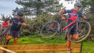 Flat, fast racing over fields, paths and singletrack at Round 4 of Welsh Cyclocross League.