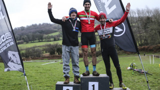 Lewis and Miller crowned Welsh Cyclo Cross Champions 2017