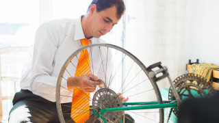 Cycling in the workplace