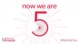 We're celebrating five years of British Cycling's Breeze Network
