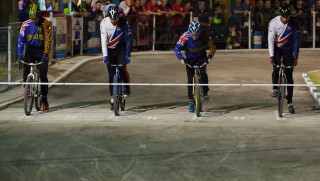 Great Britain Cycling Team lose to Australia in match one of cycle speedway Ashes series