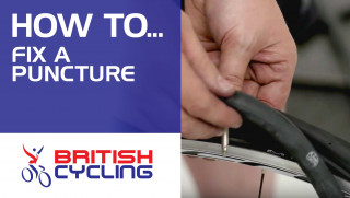 How to fix a puncture