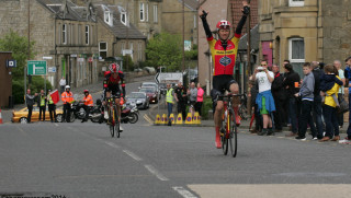 Scottish National Road Race Championships: Seven-Time King and Sprint Queen!