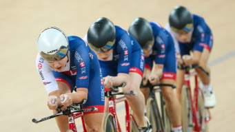 What is the team pursuit?