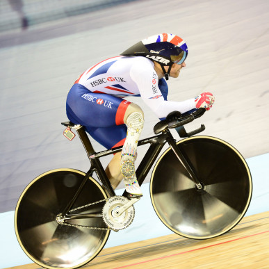 The para-cyclist