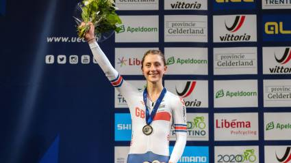 Great Britain Cycling Team Add To UEC European Track Championships Medal Tally