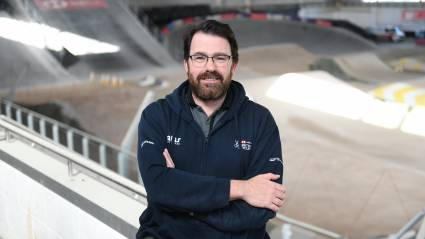 """Proud and blessed"" Brian Facer reflects on first 50 days at the helm of British Cycling"