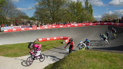 Shriever and Manaton dominate in Birmingham for HSBC UK | BMX National Series wins