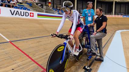 First junior track cycling world championships brings success and experience for Academy riders