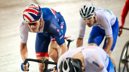 Seventh for Latham in the omnium at Los Angeles world cup