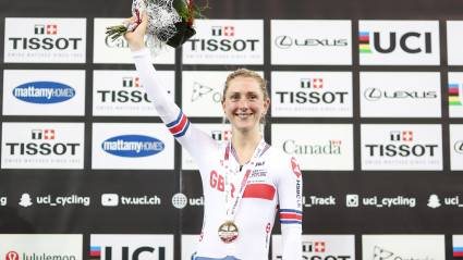 Laura Kenny looking forward to London 'buzz'
