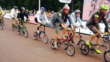 British Cycling chief executive Ian Drake targets Brompton World Championship win