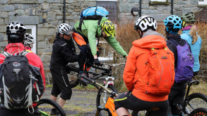 Mountain bike leaders meet at Plas y Brenin for two-day development conference