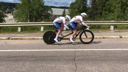 Double golds for Graham, Fachie and Hall lead the way at the UCI Para-Cycling Road World Cup in Canada