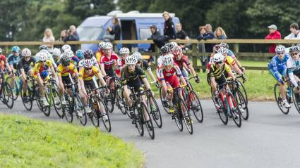 Final round of British Cycling Youth Circuit Series in Scarborough