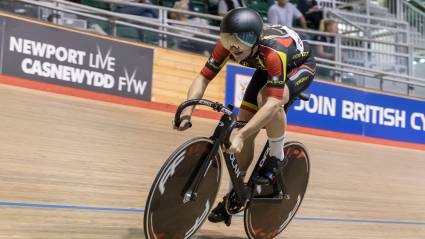 Backstedt and Bunting become double champions on final day of British Cycling National Youth and Junior Track Championships