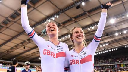 British stars shine on final day of Tissot UCI Track Cycling World Cup - Day 3