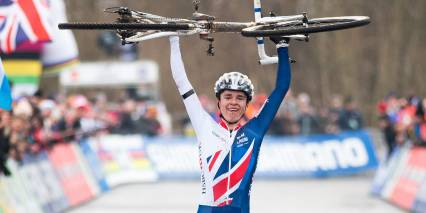 Tom Pidcock leads British 1-2-3 at the UCI Cyclo-cross World Championships