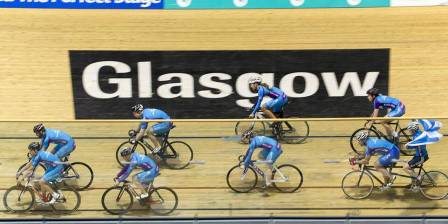 Get into track cycling