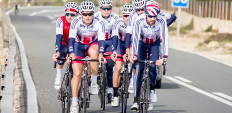 Great Britain Cycling Team Kit British Cycling