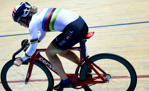 Great Britain Cycling Team's Laura Kenny