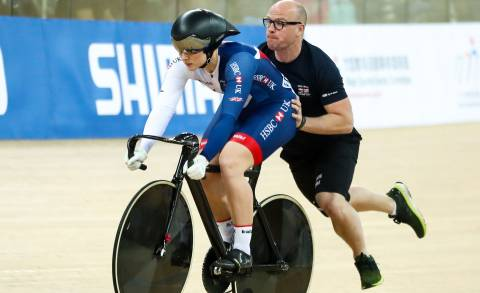Great Britain Cycling Team's Katy Marchant