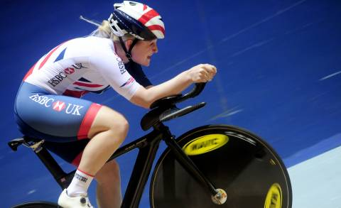 Great Britain Cycling Team's Emily Kay