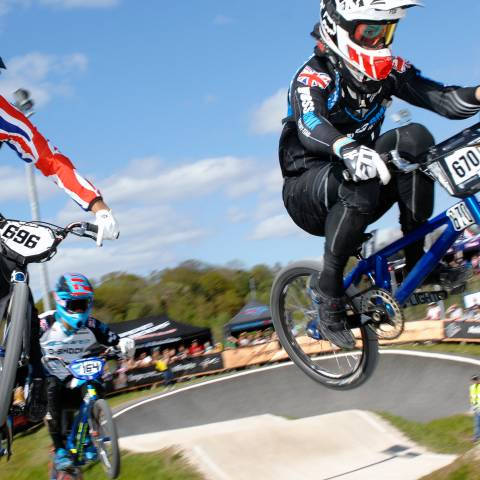 Get into BMX venue - image