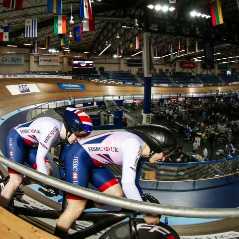 Get into paracycling venue - image
