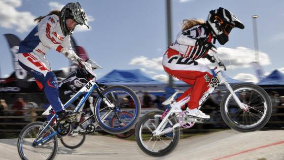 Peckham Challengers BMX Club enjoy a one-two in the women's standings.