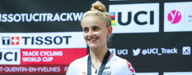 Barker and Evans in the medals for Britain as curtain falls on Track World Cup opener